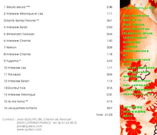 Photo CD Yumé verso